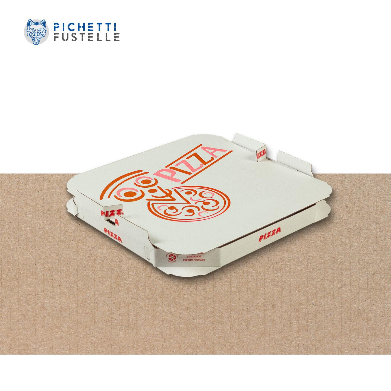 Vassoio + coperchio pizza brevettato